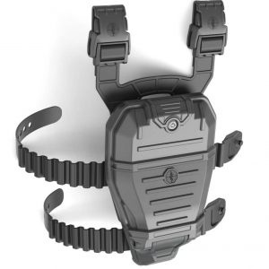 P17 Waterproof Holster with Curved Leg Straps